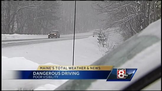Stay with car rather than walk away, state trooper says