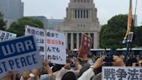 Tens of Thousands Protest New Security Bill