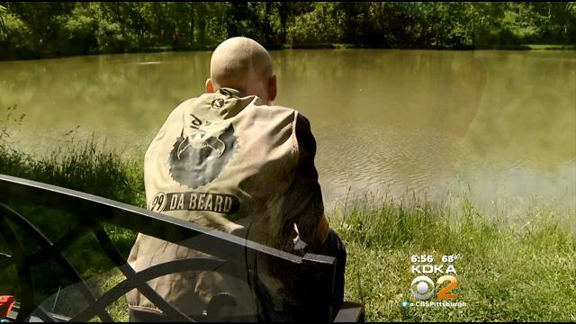 Brett Keisel Enjoys Day Of Fishing With Children's Hospital Patients