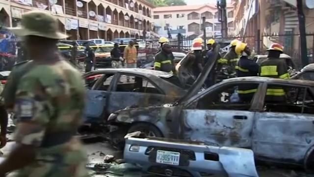 At least 21 killed in rush-hour blast in Nigerian capital