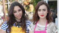 Besties - Best Friend Tag with Lily Collins, Liana Weston and Duff Goldman