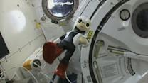Robot Utters First Words in Space