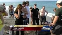 Sperm whale, calf found beached in Jupiter