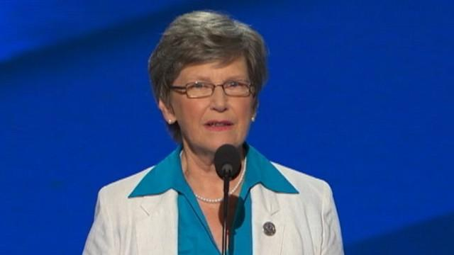 'Nun On the Bus' Gets DNC Standing Ovation