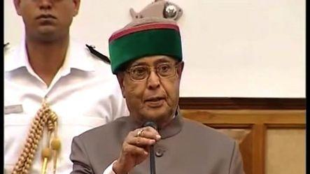 Sad and anxious over rampant parliament disruption: Pranab