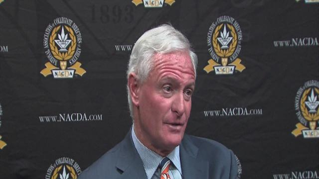 Jimmy Haslam talks to Cleveland media