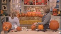Carving Pumpkins with Bette Midler