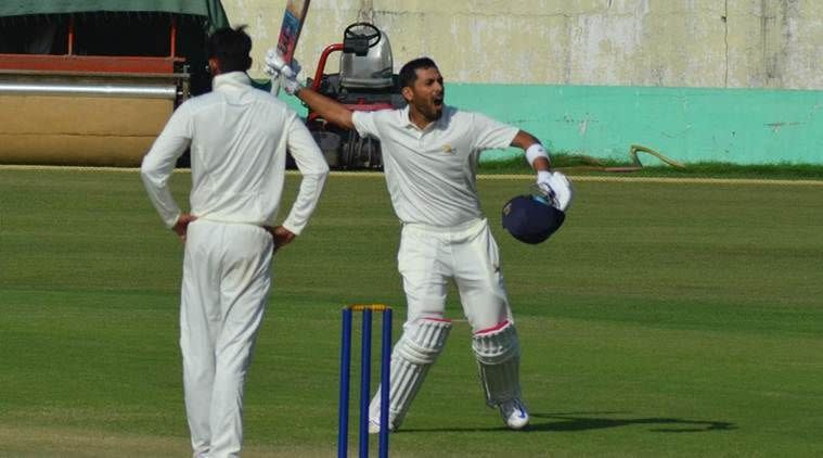 Prashant Chopra scored a triple-century on his 25th birthday
