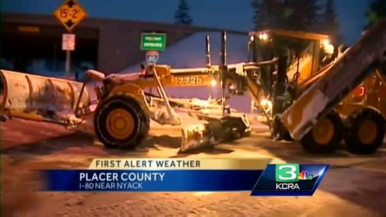 Sierra experiences inches of light, fluffy snow