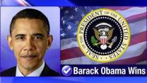 President Obama wins, gets second term
