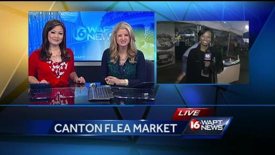 Canton Flea Market big draw for shoppers