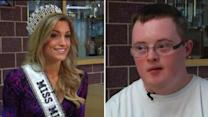 Down syndrome teen to take Miss MN to prom