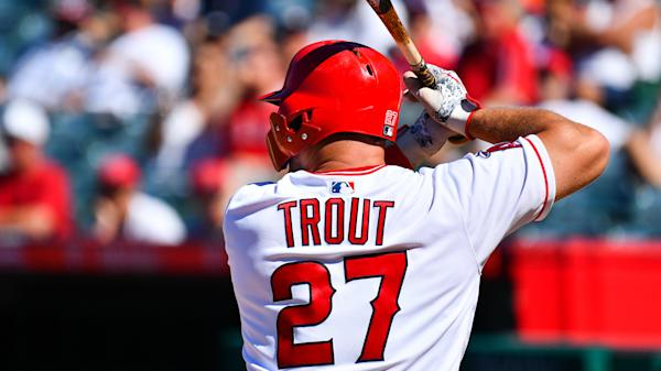 official photos ed8a8 fd36e Mike Trout, Angels reportedly finalizing $430 million extension