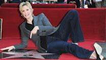 Jane Lynch Gets Star on Hollywood Walk of Fame