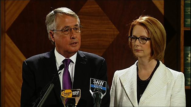 Gillard and Swan face questions