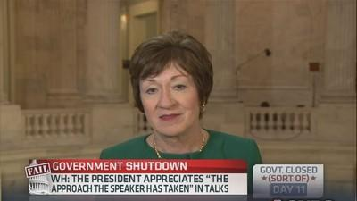 Debt limit should be extended through Jan. 1: Sen. Collin...