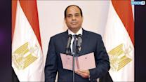 New Egypt President Sworn In, Calls For Stability