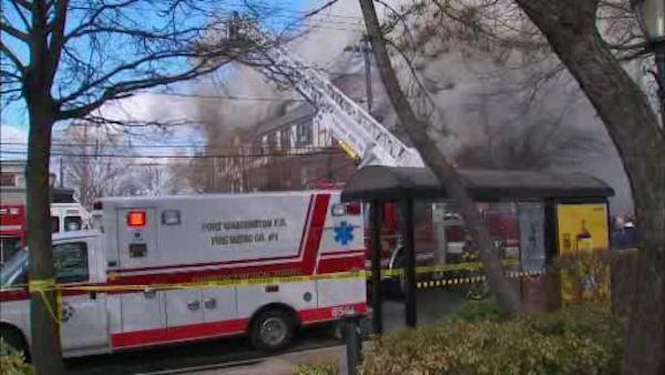 Several residents displaced in Port Washington fire