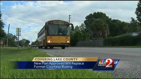 Lake County School Board to reinstate courtesy busing for all students