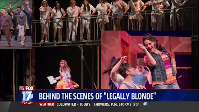 Take A Behind The Scenes Look At `Legally Blonde` Musical