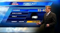 Expect partly cloudy conditions tomorrow
