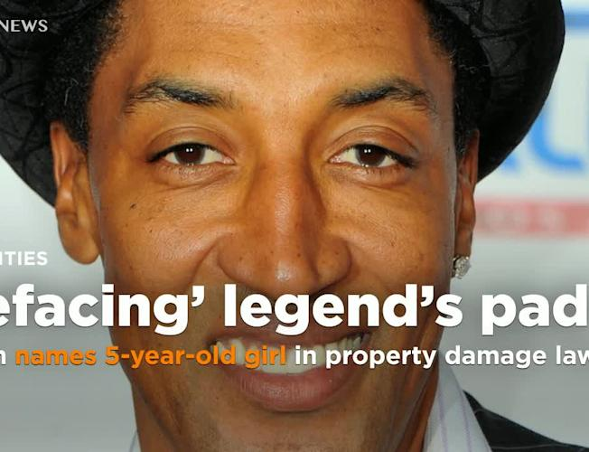 NBA legend Scottie Pippen names 5-year-old girl in a lawsuit over alleged  property damage