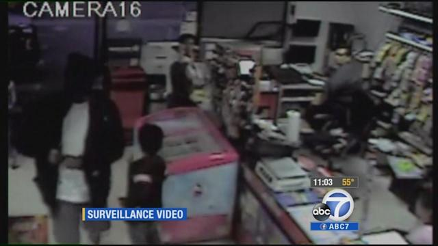 Hawthorne robber apologizes after shooting, witness says