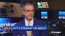 Finding a new EU financial capital: NYT's Jim Stewart