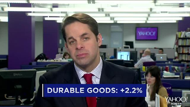 Durable goods orders surge; Facebook gets into virtual reality; King looks for a sweet debut