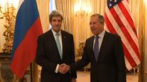Raw: Kerry, Lavrov Meet for Ukraine Talks