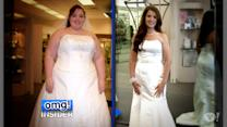 Bride Transforms from a Size 28 to a Size 12 Wedding Dress