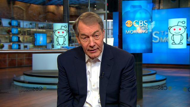 Charlie Rose talks about his