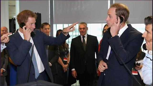 William And Harry Do Good At BGC Charity Day