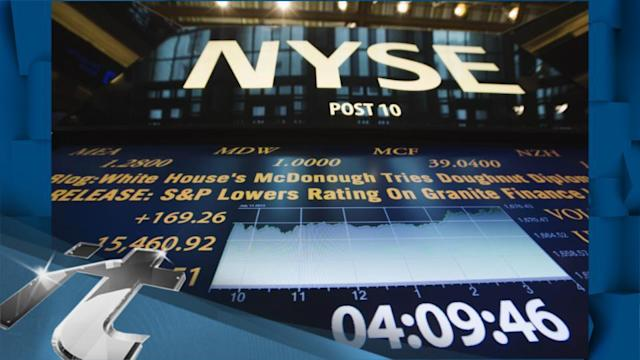 Stock Markets Latest News: S&P 500 Crosses 1,700 Points for the First Time