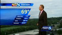 KCCI weather forecast video
