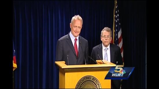 Watch: Ohio AG, Hamilton Co. prosecutor discuss Rep. Peter Beck's indictments