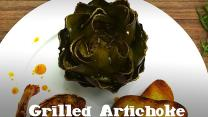 Grill Next Door: Grilled Artichoke