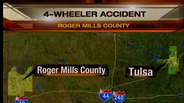 Roger Mills man dies in 4-wheeler accident