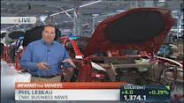 Tesla ramps up Model S production