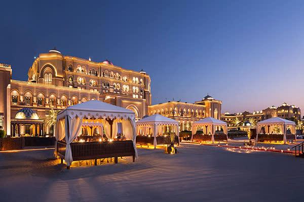 酋長皇宮酒店 (圖/Emirates Palace,以下同)
