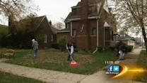 Community group assisting one house at a time