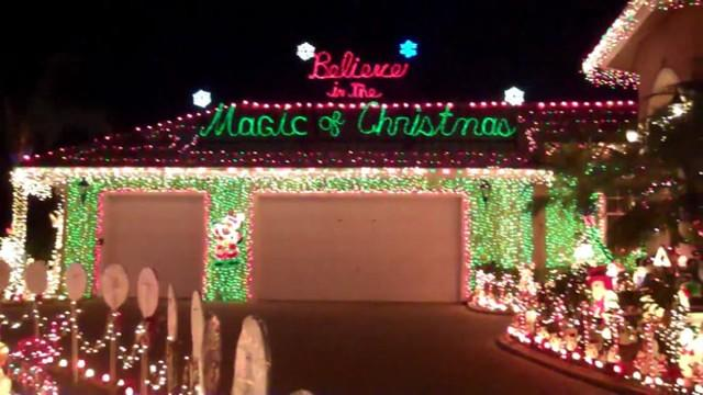 Florida Family Creates Winter Wonderland