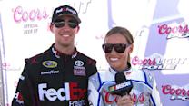 Out Front with Miss Coors Light: FedEx 400