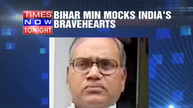 Bihar Minister's insensitive remark
