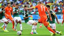 Mourinho on how Robben 'tries to get an advantage'