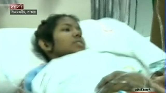 Woman Survives 17 Days in Bangladesh Factory Rubble