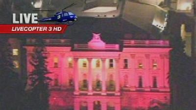 Capitol Turned Pink For Cancer Awareness