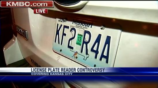 ACLU challenges police on license plate scanners
