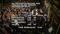 U.S. House strongly approves budget pact