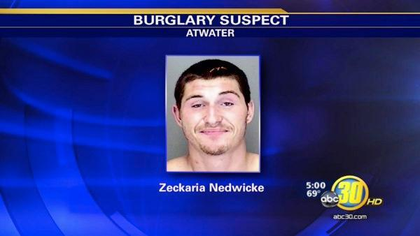 Atwater man accused in several bold, day-time burglaries